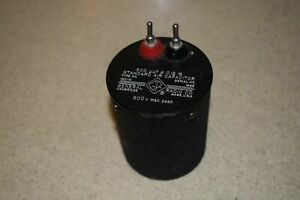 General Radio 1401 0 Standard Air Capacitor 500 Uuf 0 12 75