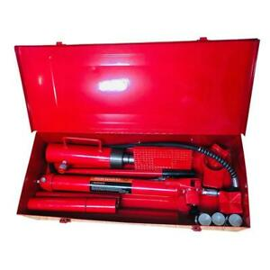 20 Ton Hydraulic Jack Pump Lift Porta Power Ram Repair Tool Kit Set