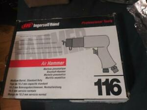 Ingersoll Rand 116k Air Hammer W Chisel Punch Bits