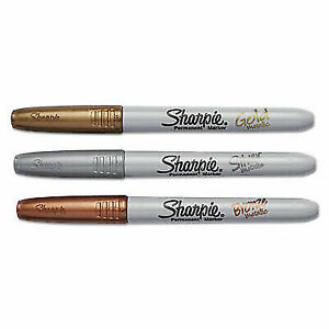 Sharpie Metallic Permanent Markers Office Pack Fine 36 Markers san2003900