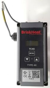 Briskheat Tc4x 2 Tc4x Digital Temperature Controller Sensor 120 240v
