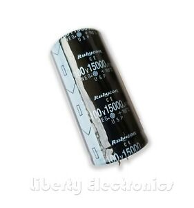 New 15000uf 100v Electrolytic Capacitor 70x35mm