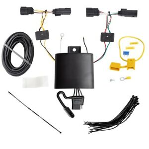 Trailer Wiring Harness Kit For 19 20 Ford Edge Titanium Models Only Plug Play