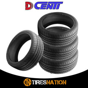 4 New Dcenti D8000 225 50r17 93v All Season Performance Tires