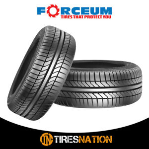 2 New Forceum N300 185 70r13 86h All Season Performance Tires