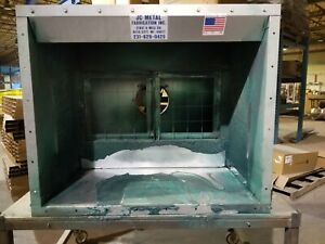 Jc tt4 Table Top Spray Paint Booth