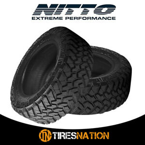 2 New Nitto Trail Grappler M t 37 12 5 17 124q Off road Traction Tire