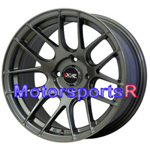 Xxr 530 15 X8 25 0 Gunmetal Concave Rims Wheels 4x100 Stance 02 06 Scion Xb Bb