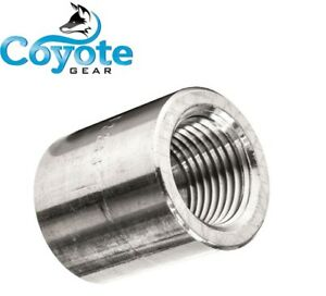 High Pressure 3 4 Npt 304 Stainless Threaded Full Coupling 3000 Coyote Gear Ss