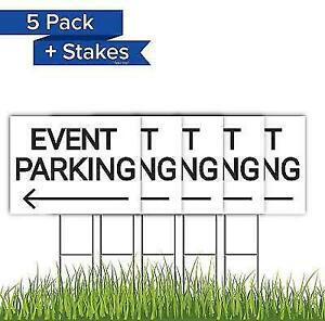 Event Parking Yard Sign With Legs