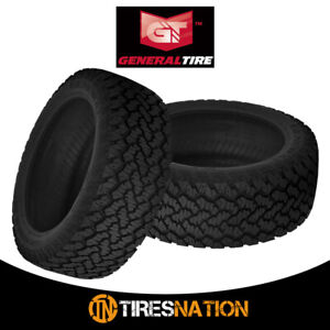 2 New General Grabber At2 265 70 16 112s All terrain Control Tire