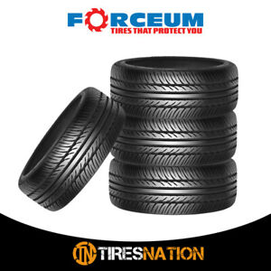 4 New Forceum D850 205 40zr18 86y Ultra High Performance Tires