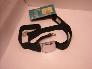 Mopar 1963 64 1965 Plymouth Dodge Chrysler Imperial Seat Belt Black