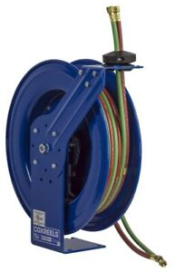 Coxreels Shw n 150 Spring Driven Welding Hose Reel 1 4 X 50ft Oxy acet 200psi