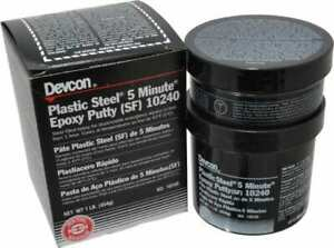 Devcon 1 Lb Pail Two Part Epoxy 5 Min Working Time 2 026 Psi Shear Strength