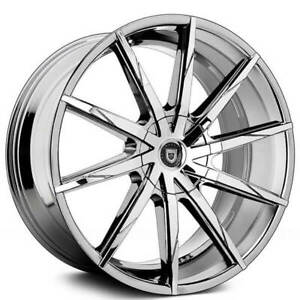 4ea 24 Lexani Wheels Css 15 Chrome Rims s1