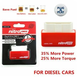 Super Obd2 For Diesel Performance Chip Add Power Fuel Saver Tuning Box Plugampplay Fits Edge