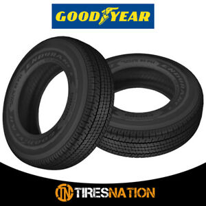 2 New Goodyear Endurance 235 80r16 123n Truck Trailer Tire
