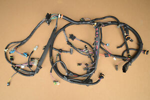 Nos Gm 1989 350 Tpi Corvette 700r4 Automatic Engine Wiring Harness W Manual A C