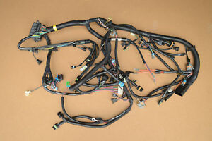 Nos Gm 1989 350 Tpi Corvette Manual Zf6 Engine Wiring Harness W Auto A c