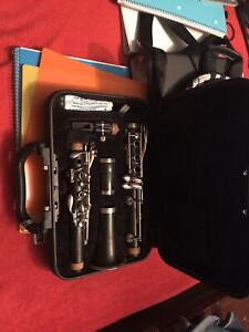 Yamaha 450N Intermediate Wood Clarinet with Case and Accessories