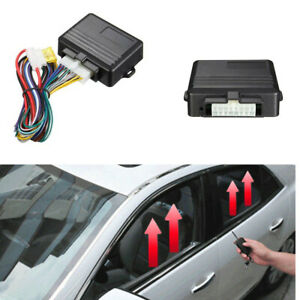 Car Accessories 12v Universal Automatic Window Closer System Kit For 4 Windows