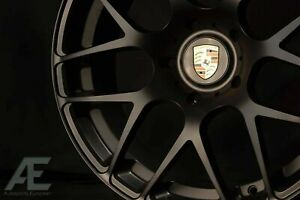 19 Inch Porsche 911 Ruger Forged Wheels Rims Carrera 2 4 996 997 Black5x130 Lugs