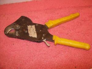 Baudat 1 1 4 Copper Aluminum Ratcheting Ratchet Cable Cutters K32 Germany