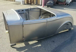 In Stock All Steel 1932 Ford Roadster Body Hot Rod Rat Flathead Scta Vtg Deuce