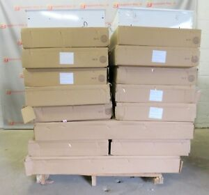 Recessed Fluorescent Commercial Lighting Lights Troffer New Lot of 34 $2,750.00