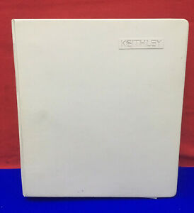 Keithley Manual For Model 236 237 238 Source Measure Unit Operator s Manual