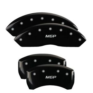 2000 Jaguar S Type Black Mgp Disc Brake Caliper Covers Front Rear 41010smgpbk