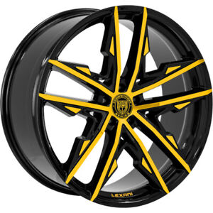 4ea 24 Lexani Wheels Venom Custom Paint Rims s5