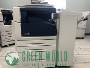 Xerox Workcentre 5955 Multi function B w Printer W Finisher 55 Ppm meter 64k