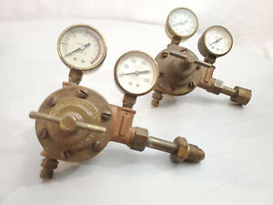 Meco Welding Regulator Set Oxygen acetylene Vintage steampunk