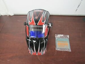 Mig tig Lincoln Electric Hood Auto Dark Welding Helmet Lens Shade 7 13 9c