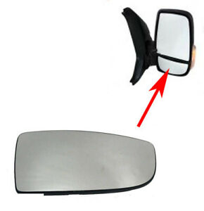 Side View Mirror Convex For Ford Transit 150 250 350 2015 19 Rh Passengers
