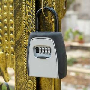 4 Digit Outdoor High Security Hanging Key Safe Box Code Secure Lock storage Ld