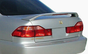 Factory Style New Trunk Spoiler Rear Wing Honda Accord 98 2002 Satin Silver Met