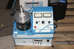 Ladd 30800 Sputter Coater With Power Supply Hwy