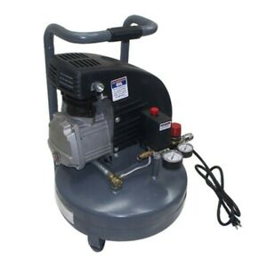 2hp Portable 4 Gallon Electric Air Compressor Pancake 4 Cfm 90 Psi