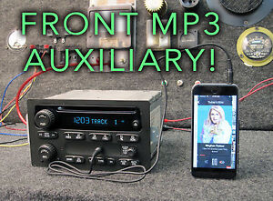 2006 Cadillac Escalade Cd Radio Stereo Upgraded Aux Mp3 Input Oem Rds 15850275
