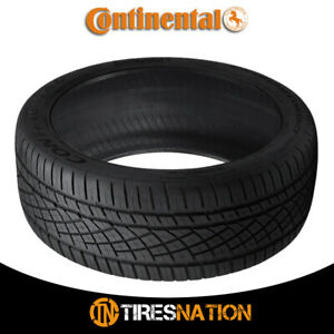 1 New Continental Extremecontact Dws06 245 40r17 91w All season Radial Tire