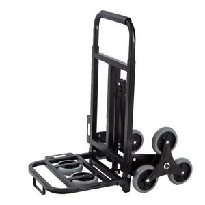 New Stair Climbing Moving Dolly Hand Truck Warehouse Appliance Cart W 8 Wheels