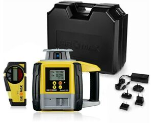 Geomax Zone60 Hg Semi automatic Dual Grade Laser Level W Zrb35 Basic Receiver