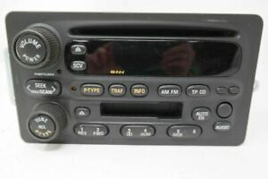 2001 01 Olds Alero Am Fm Stereo Cassette Cd Player Opt U1q