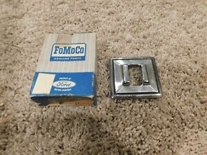 Nos 1971 1972 Ford Mustang Rh Or Rear Power Window Switch Control Bezel New Nos