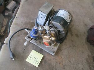 Used 1 3 hp Cornelius Timed Carbonator Pump Procon Soda Fountain Free Ship C