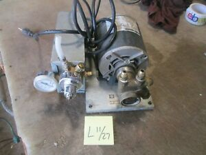 Used 1 3 hp Servend Manitowoc Model 5029125 Deck Pump For Soda Fountain Free Shi