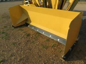 New 8 Skid Steer tractor Loader Snow Box Pusher Plow Blade Bobcat john Deere 96